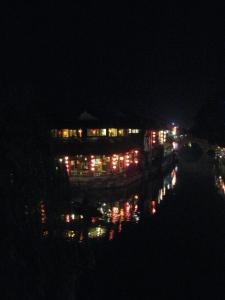 Xitang at night, with lanterns lit. (Pic 2)
