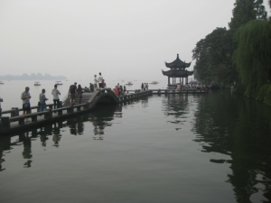 Call the Long Bridge - one of the many cool things my group and I came across walking to Leifeng.