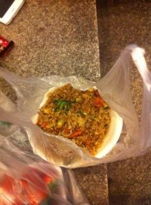 Street Rice! Yum yum yum!
