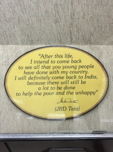 Another amazing man from the TATA family. He dedicated his life to his passion for aviation  and the education of children in India. This is his last quoted statement, before he died.