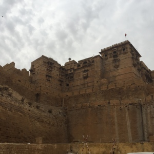 Outside view of the fort.