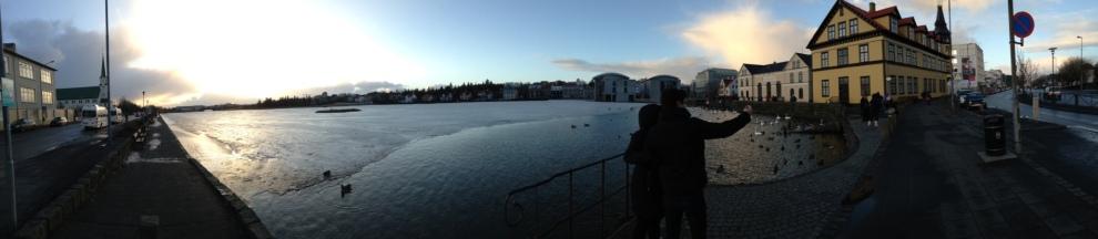Panorama of Reykjavik