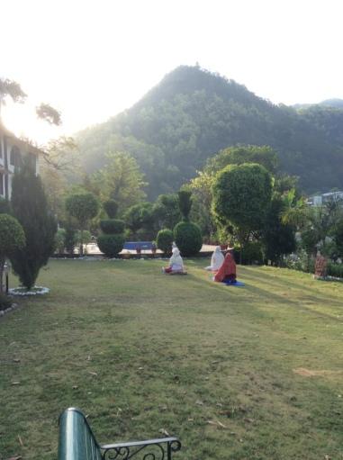 Early Morning at Sattva