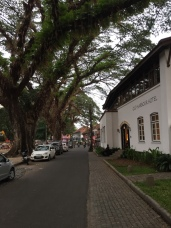 Fort Kochi interior, next to Tower House (on right)