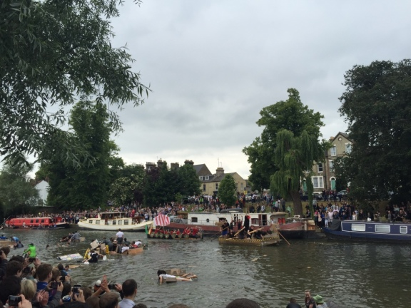 (Go Jesus!) Cardboard Boat Challenge