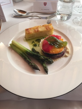 Veg Main Course (it was delicious)