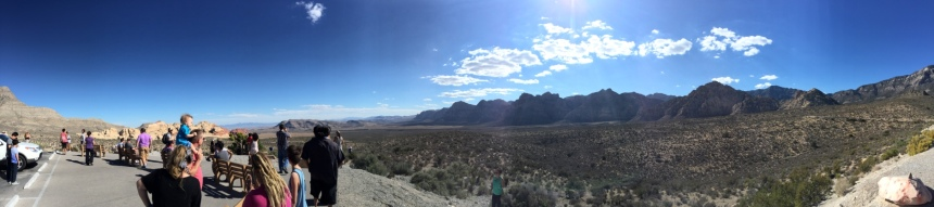 Panorama of Canyon