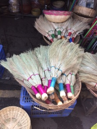 These really cool brooms, I really wanted one.