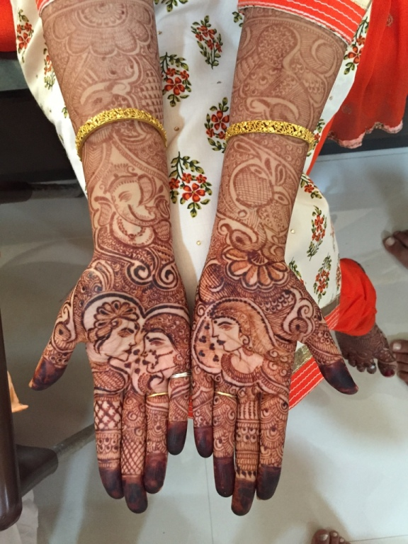 Purnima's beautiful henna...