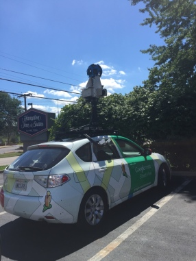 Google Earth car on the way to Cinci!