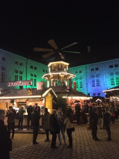 1st Christmas Market to Open