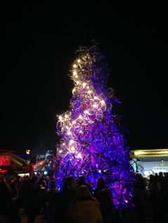 Christmas Tree of Bikes